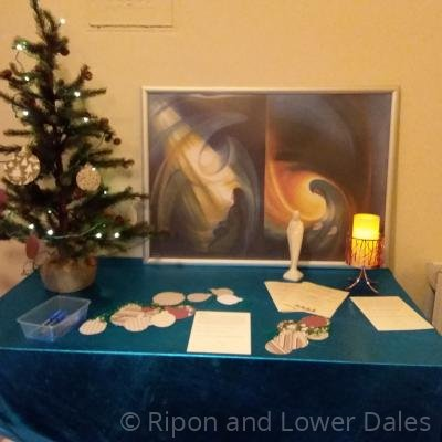 Advent prayer space 1