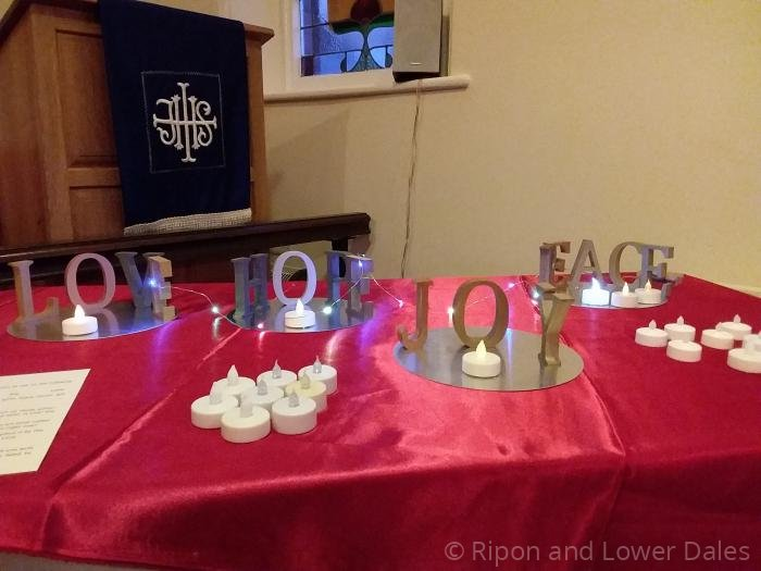 Advent prayer space 3