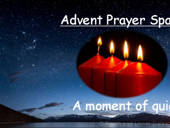 Advent Prayer Space Dec 2020