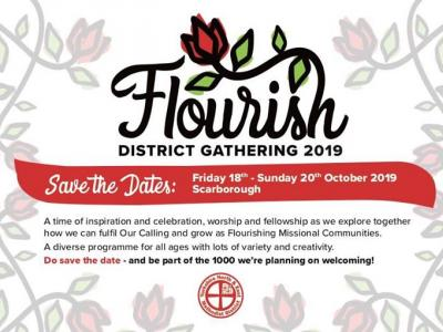 Flourish Postcard