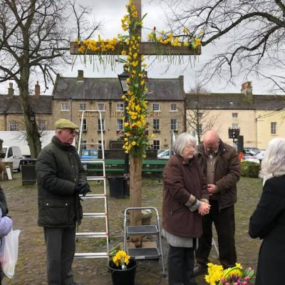 Market Place 2 Easter Cross 2018